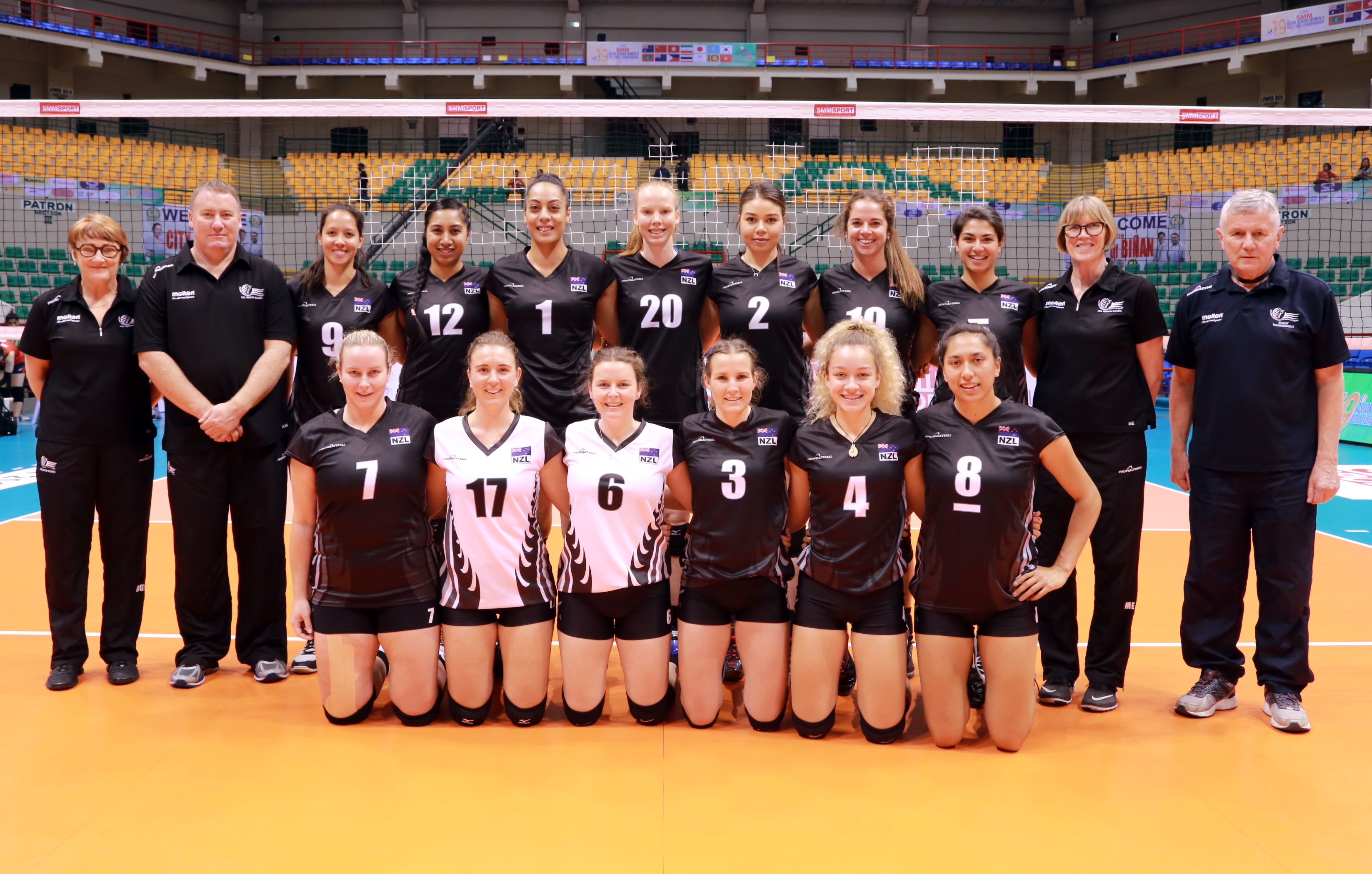 Volleyball New Zealand 2017 Performance